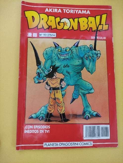 Imagen producto Dragon Ball Manga año 93 serie roja 40 N°193 1