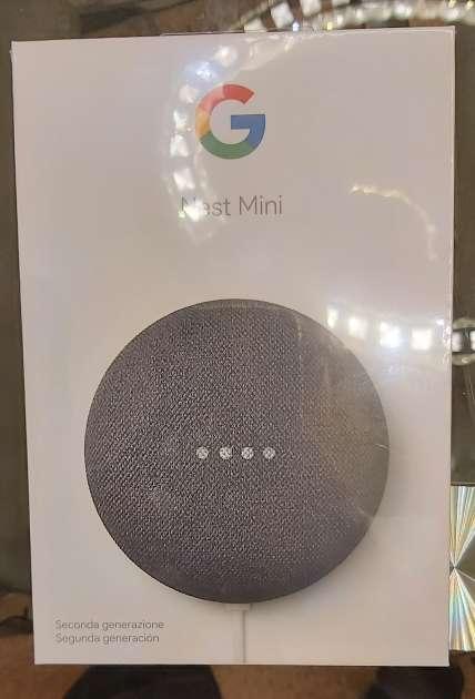 Imagen Google nest mini precintado
