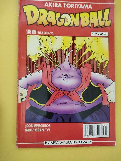 Imagen Dragon Ball Manga año 93 serie roja 42 N°195