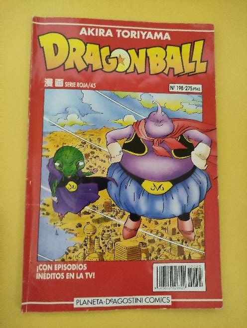 Imagen Dragon Ball Manga año 93 serie roja 45 N°198