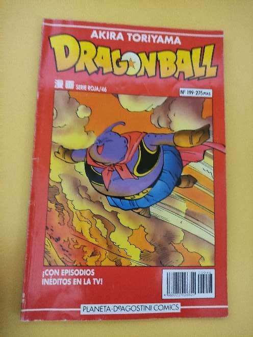Imagen Dragon Ball Manga año 93 serie roja 46 N°199