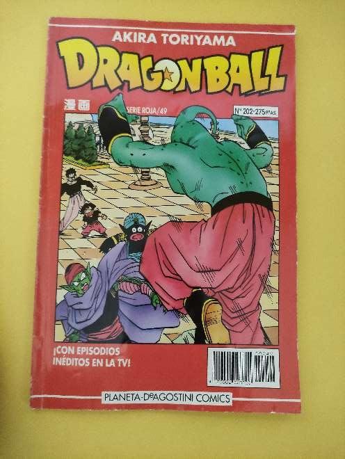 Imagen producto Dragon Ball Manga año 93 serie roja 49 N°202 1