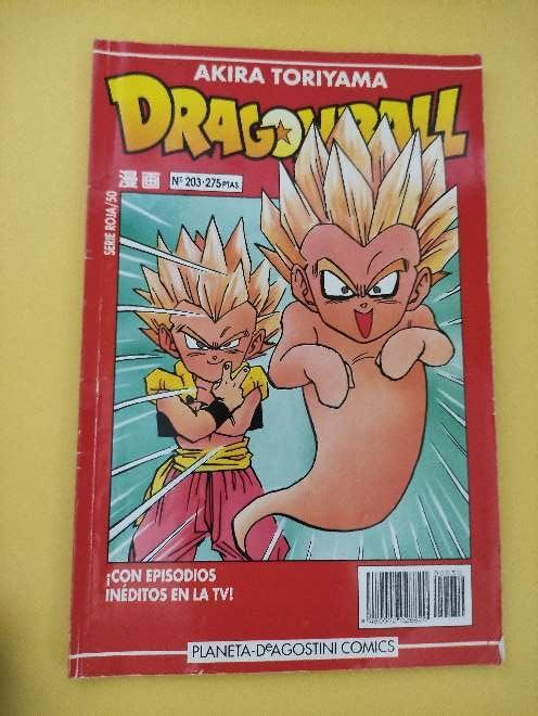 Imagen Dragon Ball Manga año 93 serie roja 50 N°203