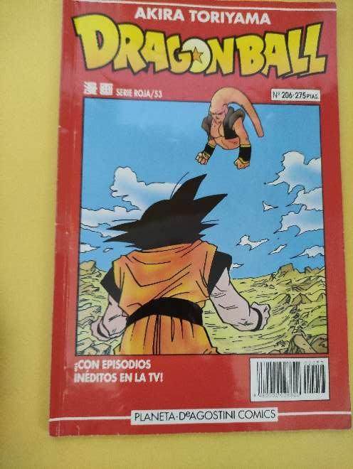 Imagen Dragon Ball Manga año 93 serie roja 53 N°206