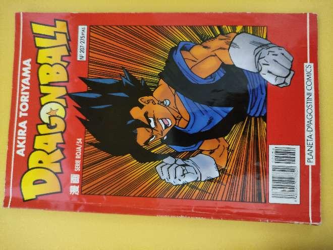 Imagen Dragon Ball Manga año 93 serie roja 54 N°207