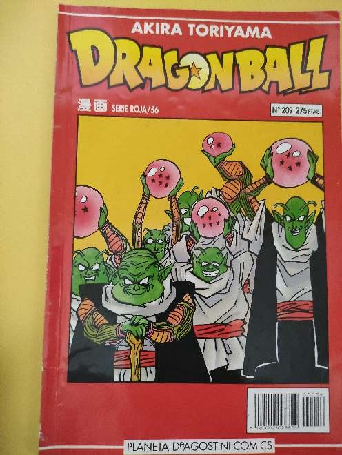 Imagen producto Dragon Ball Manga año 93 serie roja 56 N°209 1