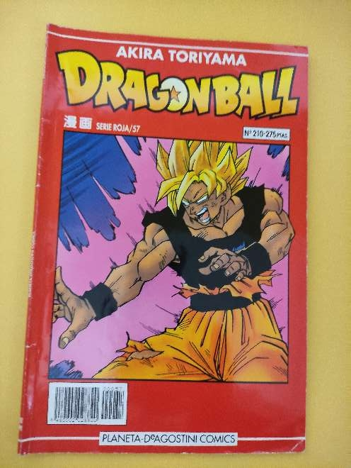 Imagen Dragon Ball Manga año 93 serie roja 57 N°210