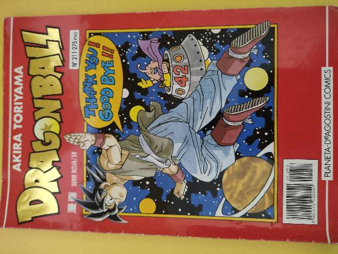 Imagen Dragon Ball Manga año 93 serie roja 58 N°211