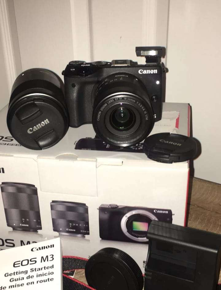 Imagen producto Original Canon EOS M3 Camara Y Lentes   4