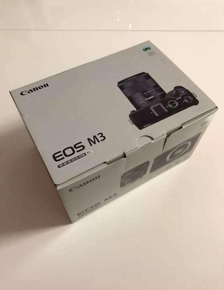 Imagen Original Canon EOS M3 Camara Y Lentes