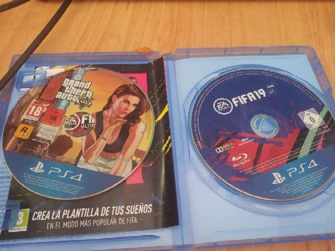 Imagen producto Cambio gta 5 y fifa 19 1