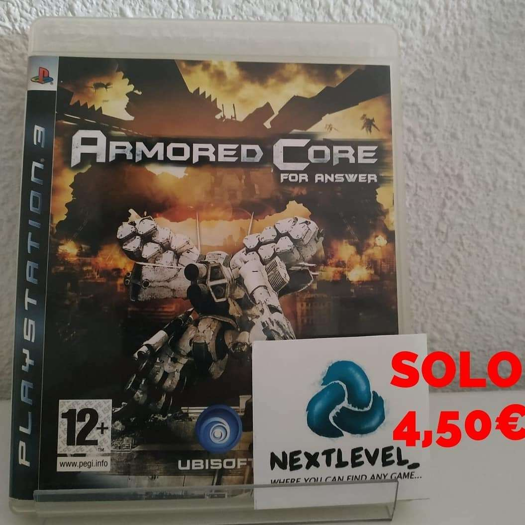Imagen producto Armored core:For Answer PS3 3
