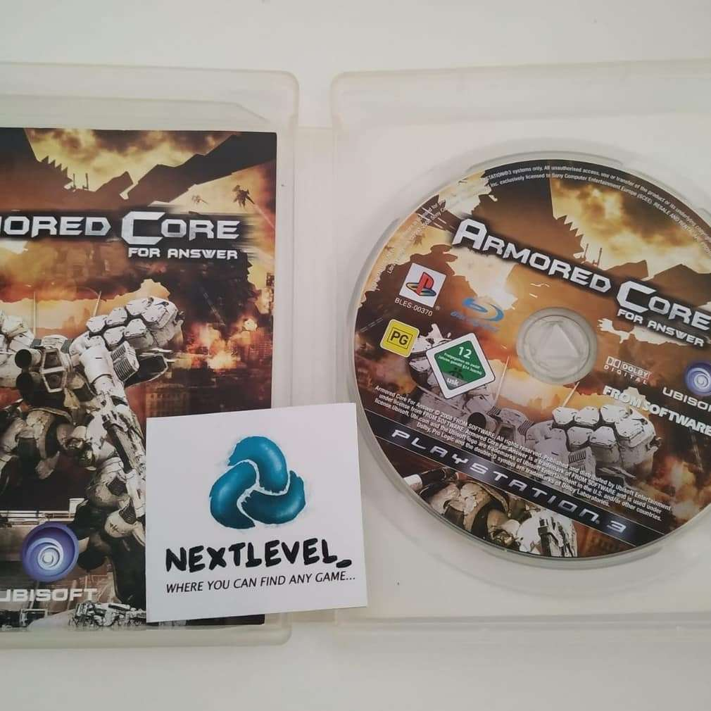 Imagen producto Armored core:For Answer PS3 4