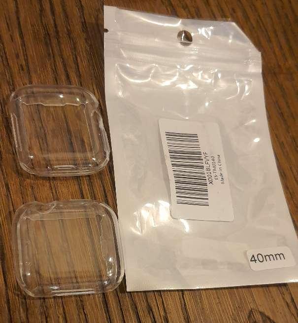 Imagen 2fundas transparentes Apple watch