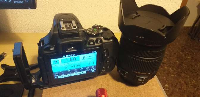 Imagen Nikon d5600 +sigma17-50