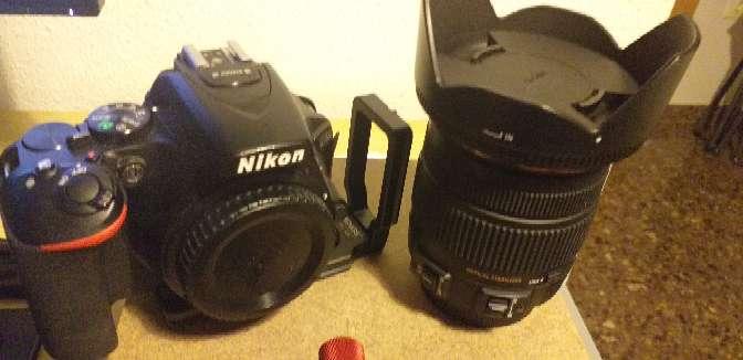 Imagen producto Nikon d5600 +sigma17-50  2