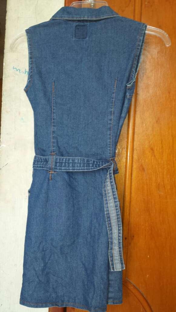 Imagen producto Vestido de mezclilla para niña 2