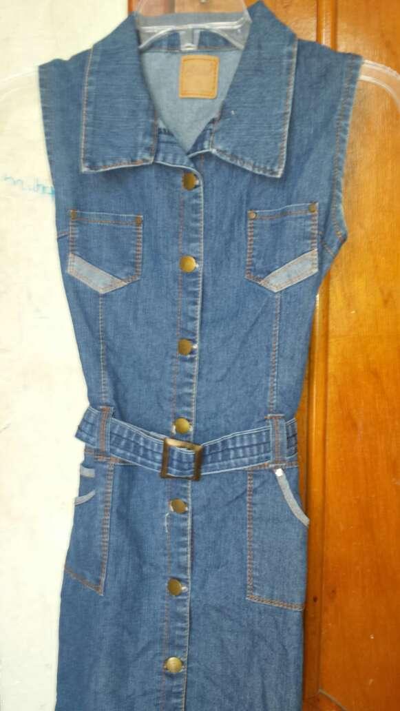 Imagen producto Vestido de mezclilla para niña 3