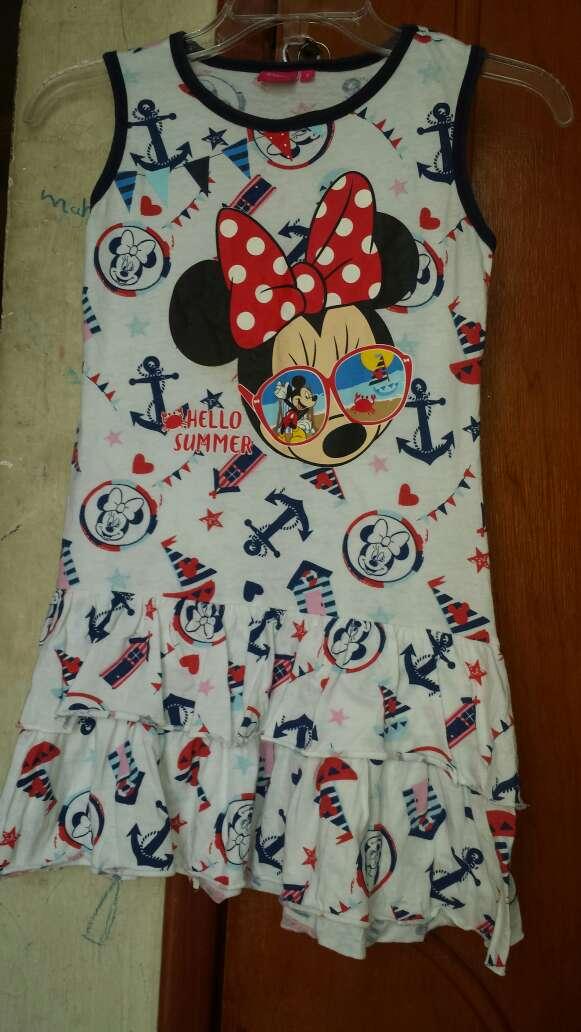 Imagen vestido de minnie para niña