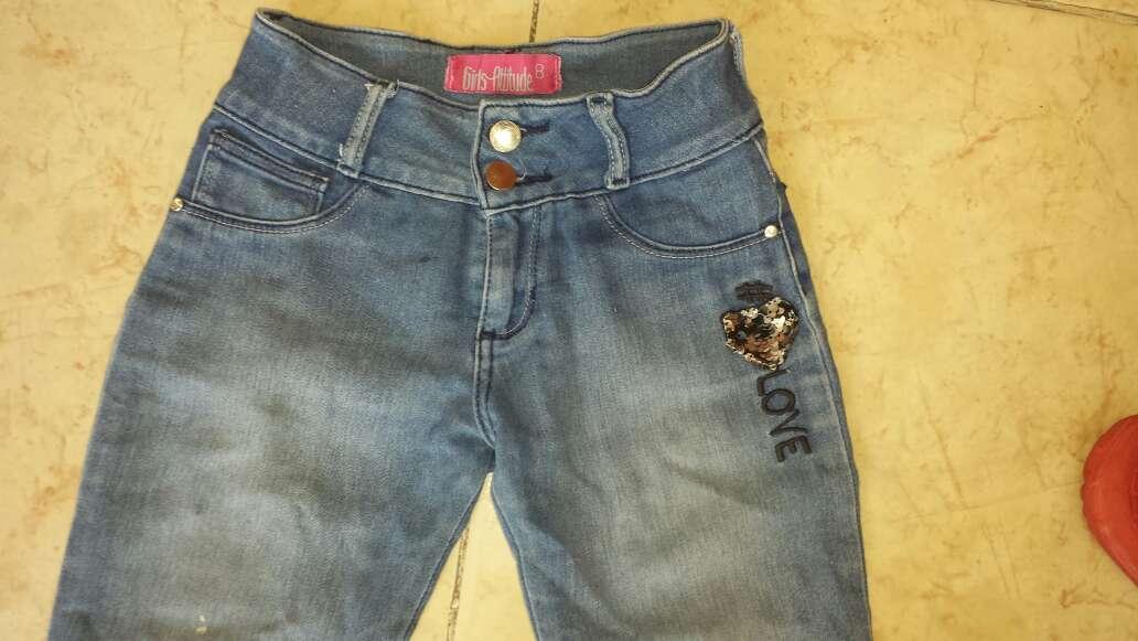 Imagen producto Pantalon de mezclilla para niña 2