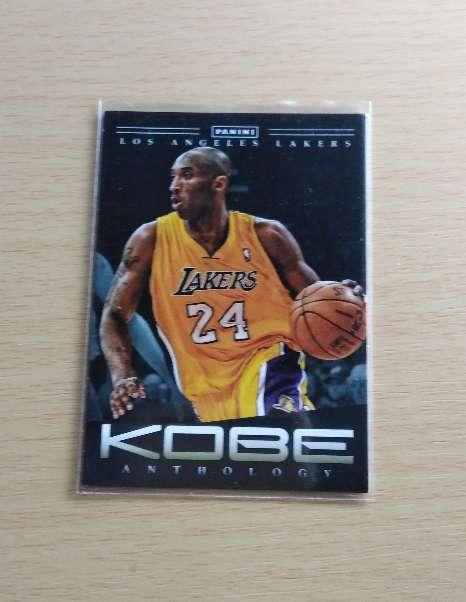Imagen Kobe Bryant card. Lakers.