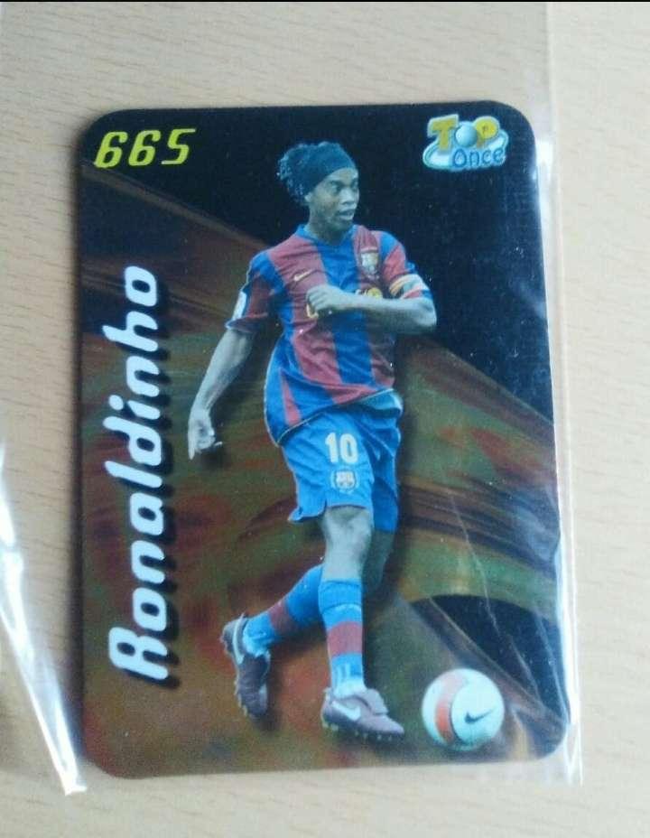 Imagen  Ronaldinho card.