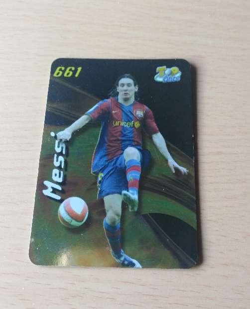 Imagen Messi card.