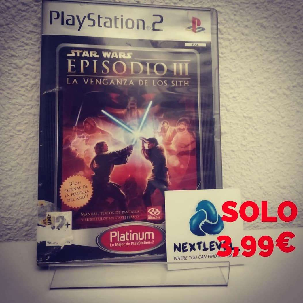Imagen producto Star wars episodio 3 PlayStation 2 1