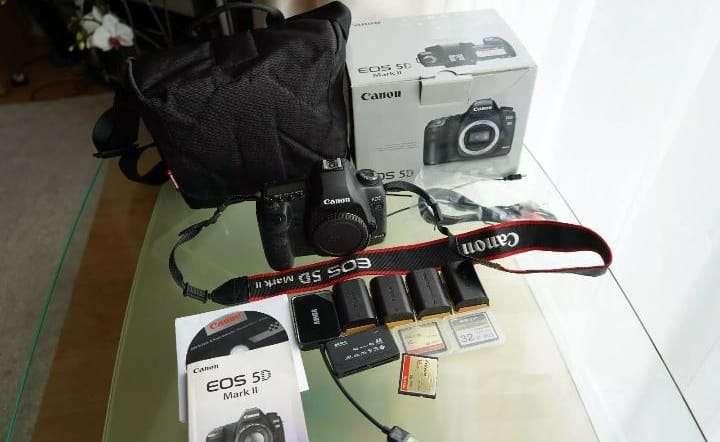 Imagen producto Canon Cámara EOS  5D Mark II  3