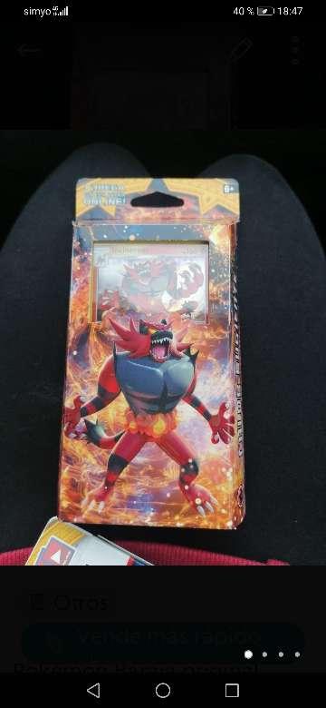 Imagen producto Pack pokémon ofertas cartas originales.  2