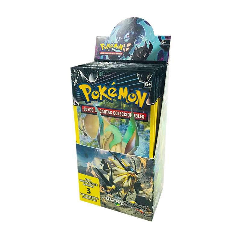 Imagen Cajas Ultraprisma Precintadas Pokémon Original