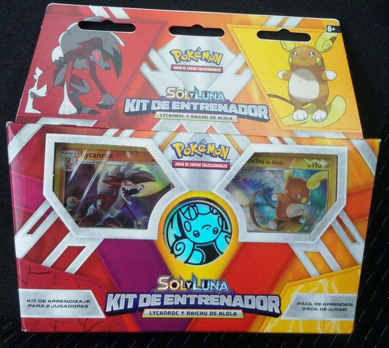 Imagen Pokémon JCC Sol y luna Kit de entrenador Original