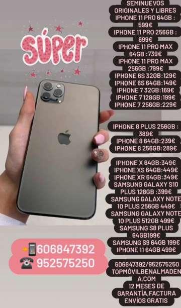 Imagen Súper oferta IPhone samsung