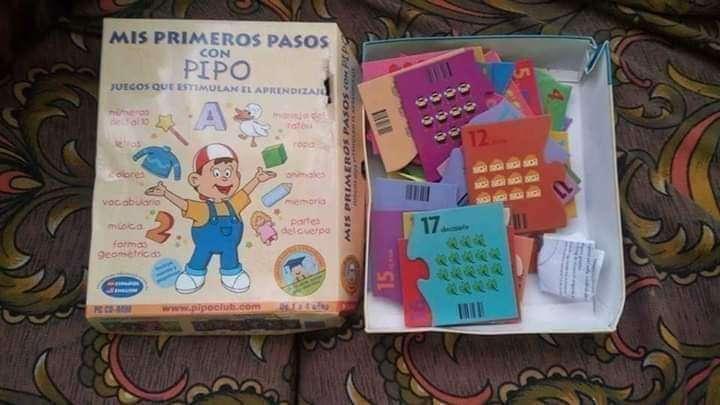 Imagen puzzle Pipo números