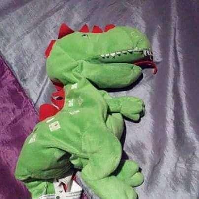 Imagen peluches dinosaurios