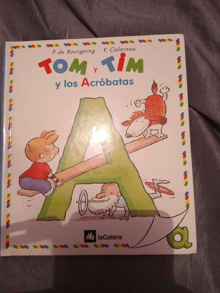 Imagen cuentos TOM Y TIM