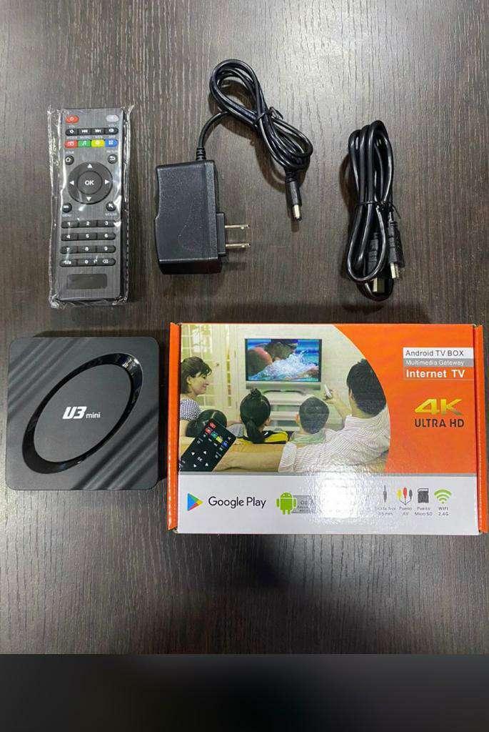 Imagen tv box 4k (mejora tu tv)