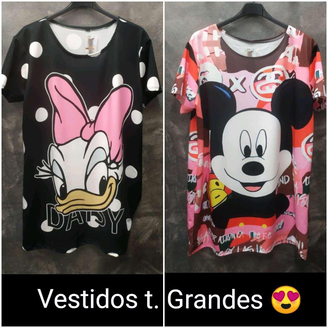 Imagen Tallas Grandes / vestidos Mickey