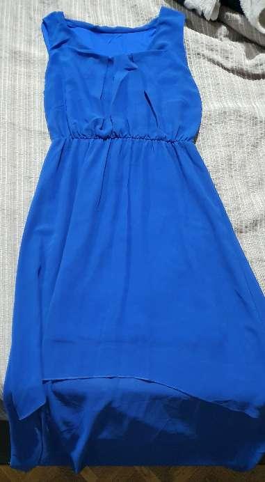 Imagen vestido verano azul
