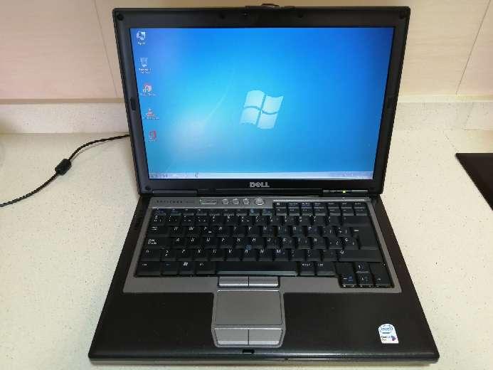 Imagen Ordenador portátil Dell LATITUDE D620 con Windows 7 y Paquete Office.