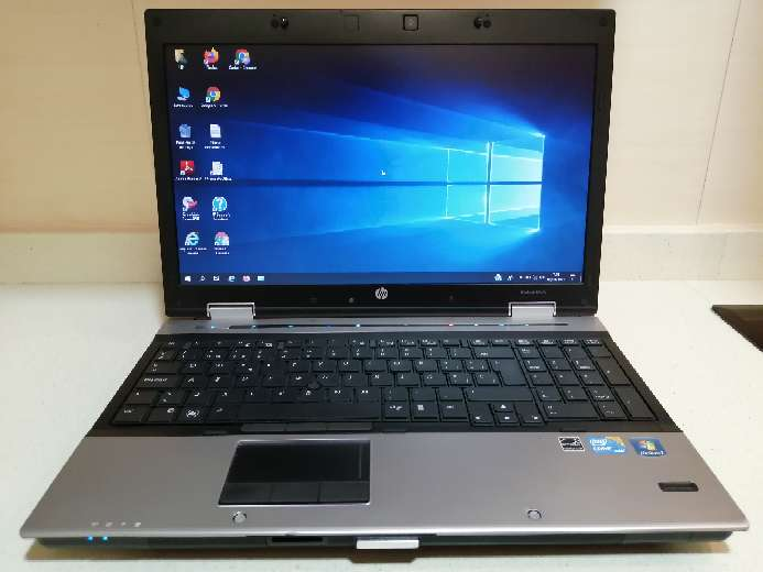 Imagen Ordenador portátil HP Elitebook i5 Windows 10