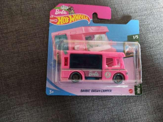 Imagen Hot Wheels Barbie Dream Camper 1/5 Hw Getaways