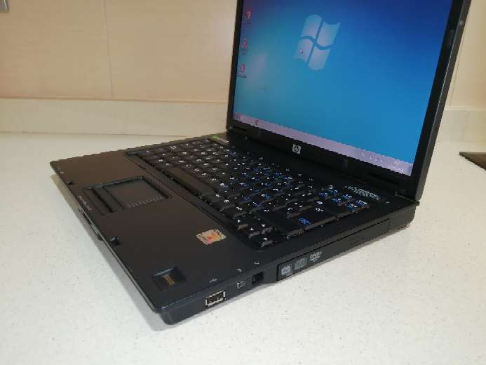 Imagen producto Ordenador portátil HP Compaq con Windows 7 y Paquete Office instalado.  4