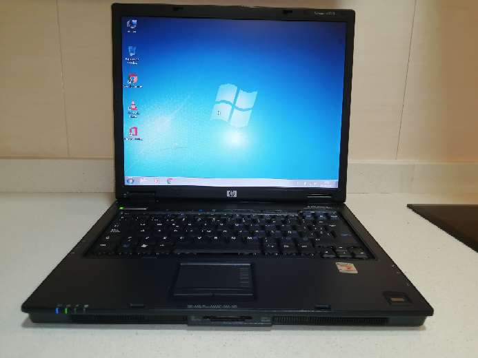 Imagen producto Ordenador portátil HP Compaq con Windows 7 y Paquete Office instalado.  5