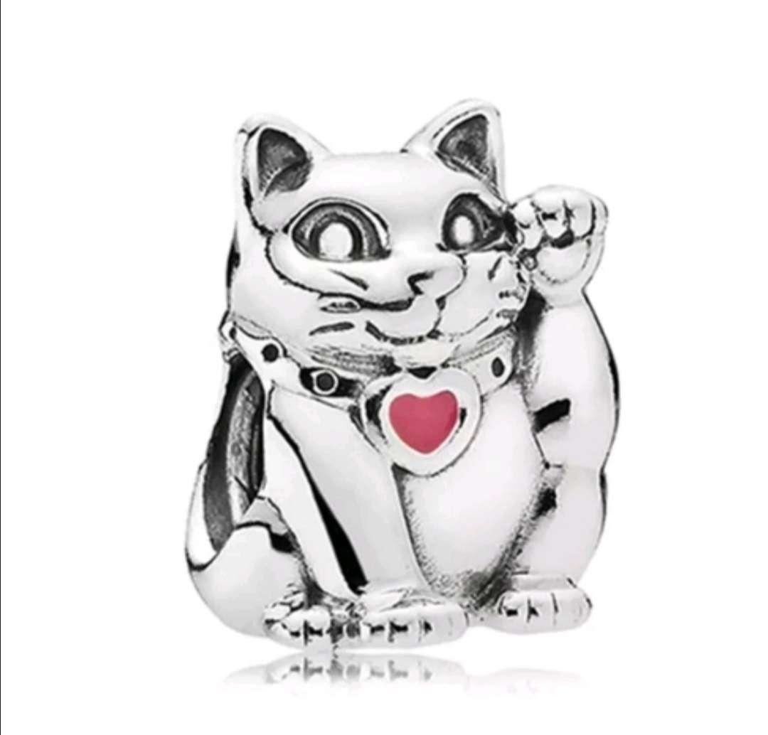 Imagen Charms - abalorio Gato de la Suerte para pulsera de Pandora