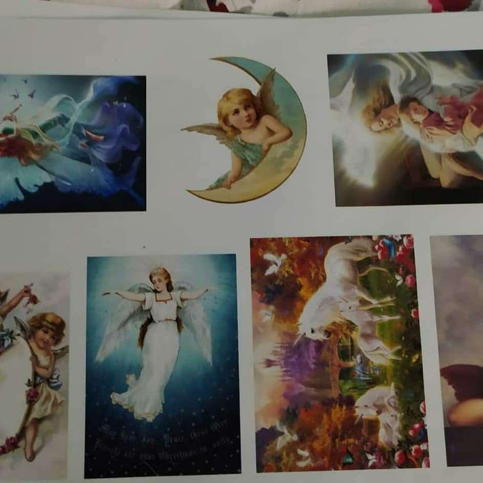 Imagen Stickers Adas y Unicornios