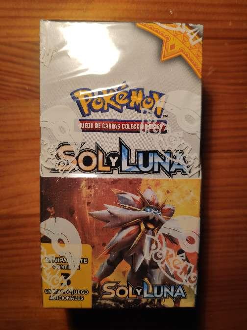 Imagen caja Pokémon Sol y luna