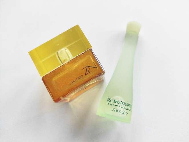 Imagen Shiseido. Perfumes en miniatura