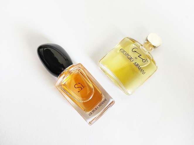 Imagen Armani.Perfumes en miniatura