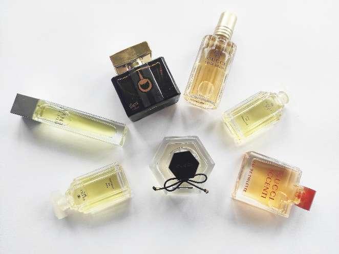 Imagen Gucci.Perfumes en Miniatura.